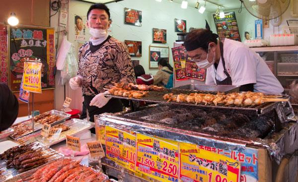 Tsukiji fish market Tsukiji – Mercato del pesce di Tokyo
