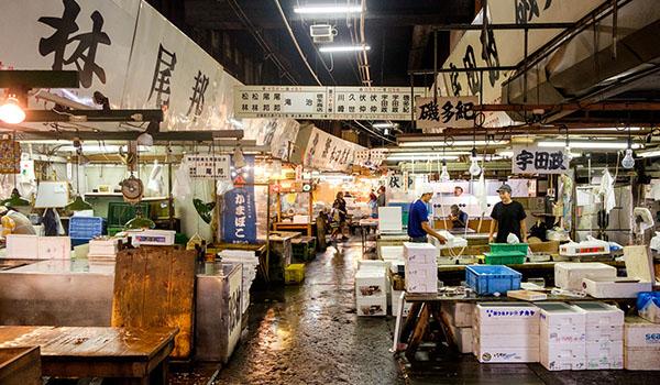 Tsukiji  5 giorni a Tokyo, cosa fare