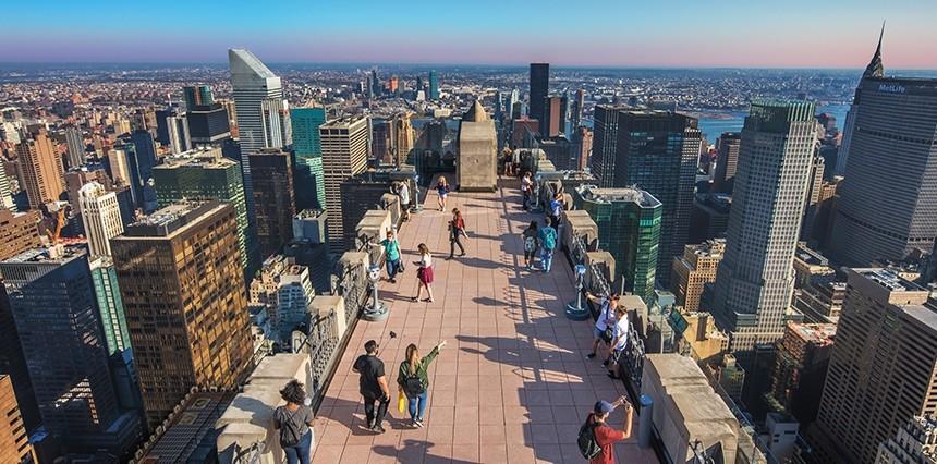 Vedere New York dall'alto