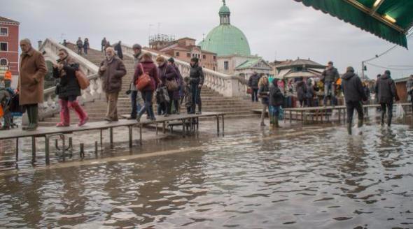 Acqua alta a Venezia – Quando vederla?