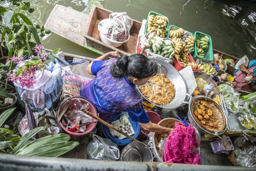 Mercati galleggianti di Bangkok