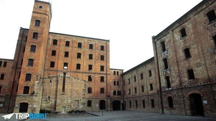 La Risiera di San Sabba, un lager nazista, situato nella città di Trieste
