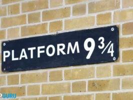 Piattaforma 9 3/4 Harry Potter