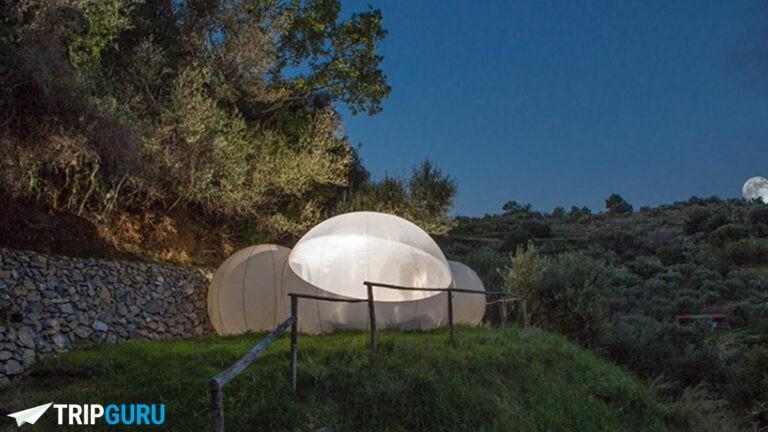 Bubble hotel in Italia